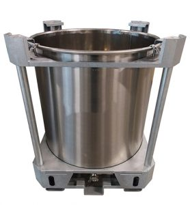 Cuves inox PALETTISABLES - OUVERTURE TOTALE