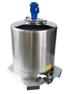 Cuves ISBP + mélangeur - 500 à 1500 L