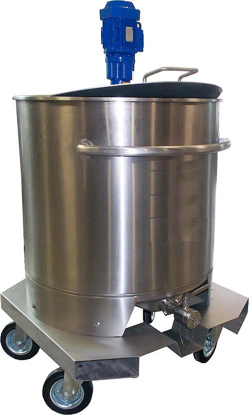 ISBPM mobile - 500 à 1500 L - pour mélangeur