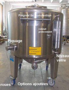 option-ajoutées-roues-niveau-de-verre-piquage-robinet-de-prelevement-poignée-de-manutention