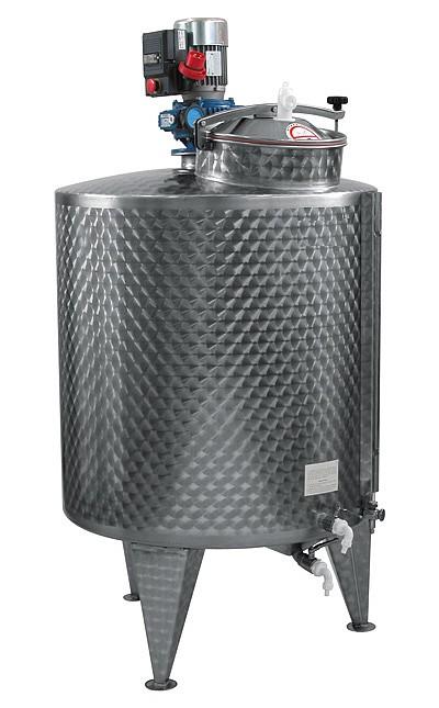 MVH + mélangeur variable 600/1000 L
