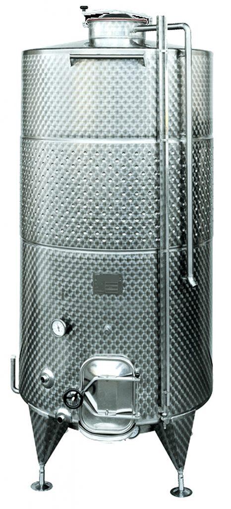 cuve de stockage inox 1000 à 5000 litres