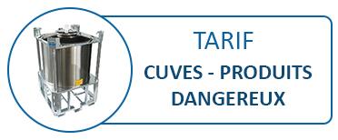 Tarif Cuves INOX produits dangereux